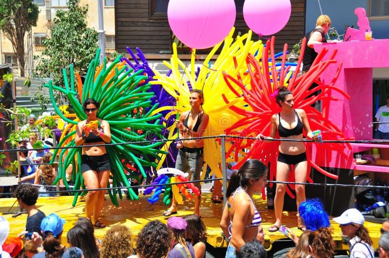 Tel Aviv 2010 Gay Parade royalty free stock photo