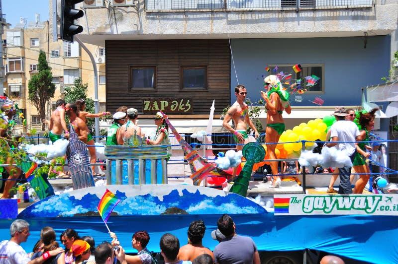 Tel Aviv 2010 Gay Parade stock image