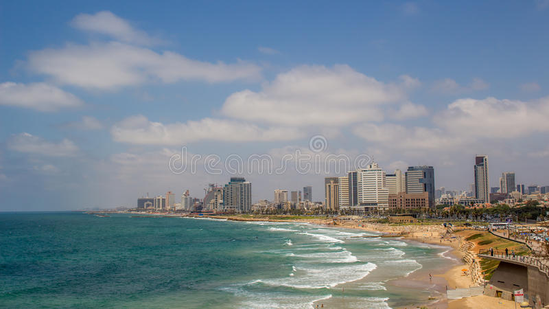 Tel Aviv foto de stock