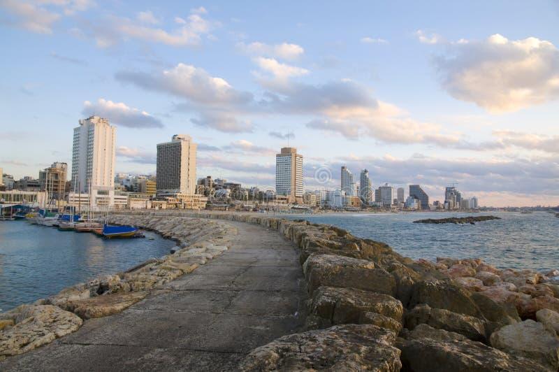 Tel Aviv Beach Royalty Free Stock Photo