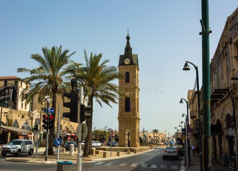 Tel Aviv e vecchio Yaffa fotografie stock libere da diritti