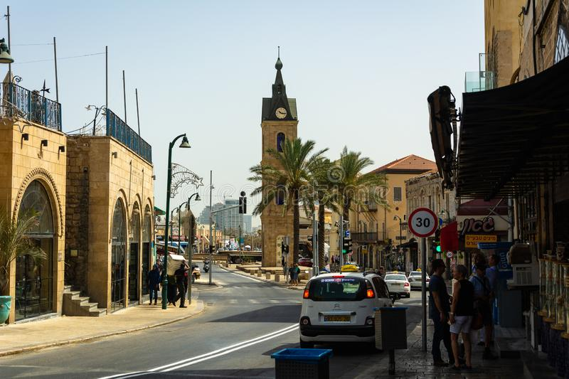 Tel Aviv e vecchio Yaffa immagine stock