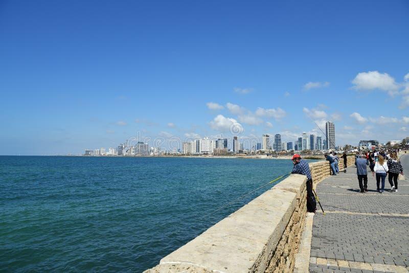 Tel Aviv, Isra?l royalty-vrije stock afbeelding