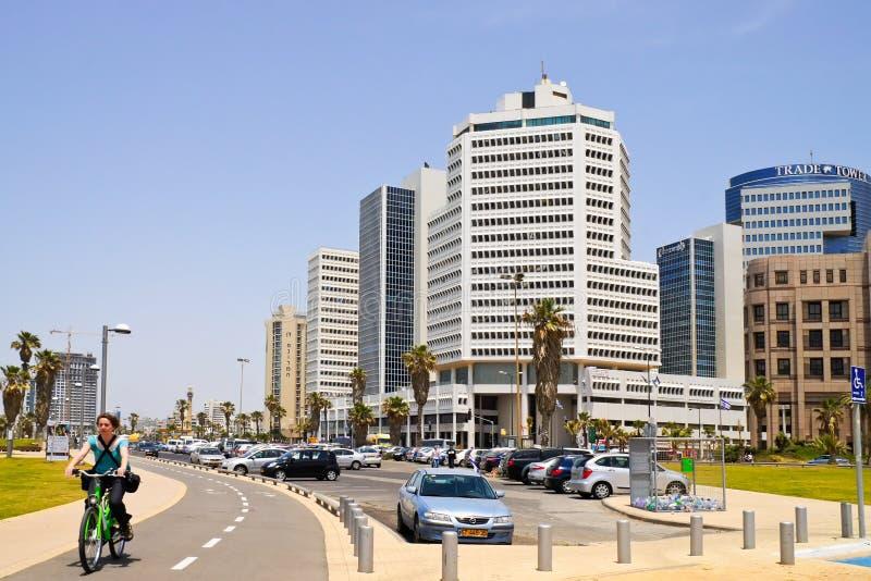 Tel Aviv in Israel stock image