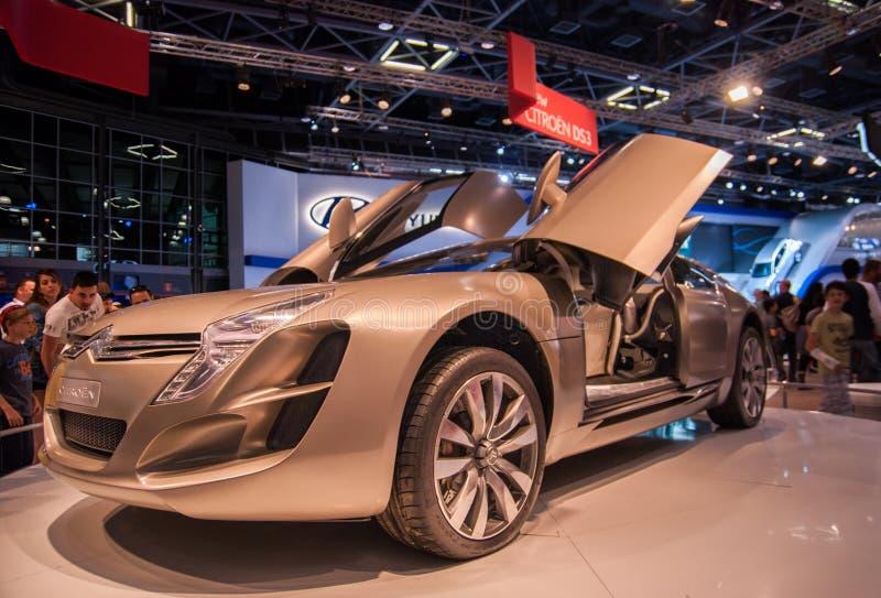 Citroen C-Metisse concept car presented on Tel-Aviv Motor Show stock photography