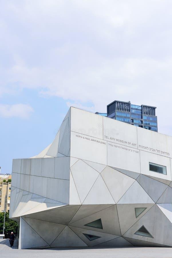 TEL AVIV ISRAEL - APRIL, 2017: Origami för arkitektonisk stil _ fotografering för bildbyråer