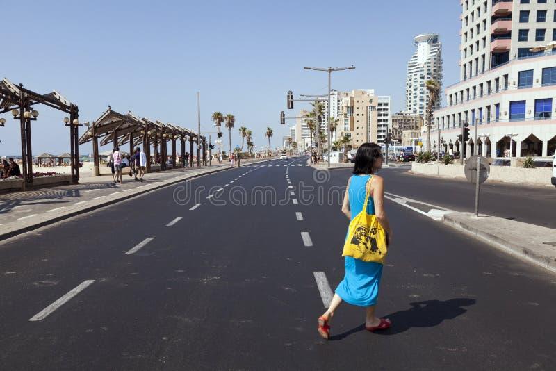 Summer At The Beach In Tel-Aviv Editorial Stock Photo