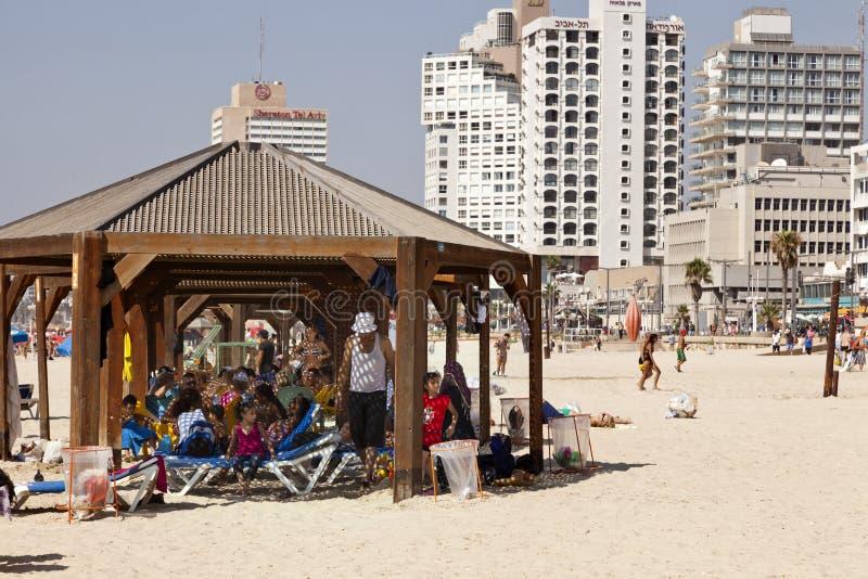 Summer at the Beach in Tel-Aviv