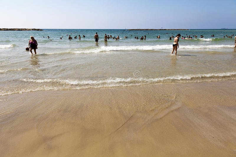 Download Summer At The Beach In Tel-Aviv Editorial Image - Image: 30173410
