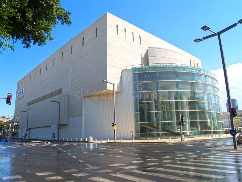 TEL AVIV, ISRAEL. Gabima theater in sunny day stock images