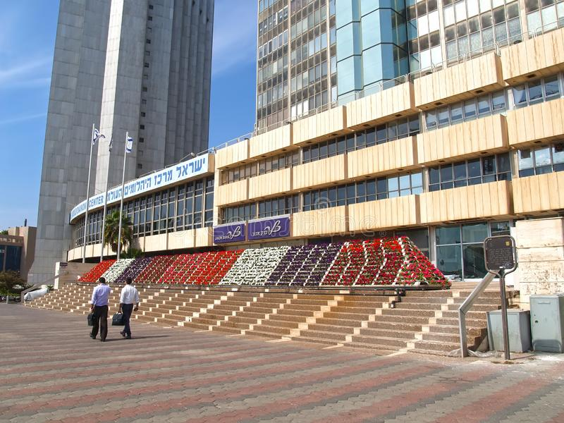 TEL AVIV, ISRAEL. Office buildings in the terrtory of the Diamond exchange. Ramat Gan stock images