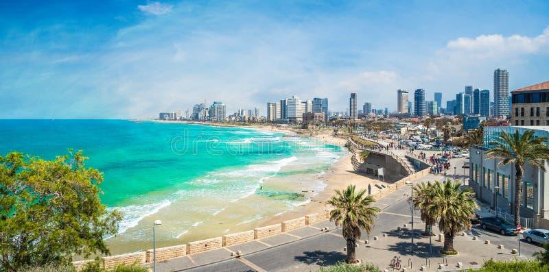 Tel Aviv, Israel. Panoramic view of Tel Aviv, Israel royalty free stock image
