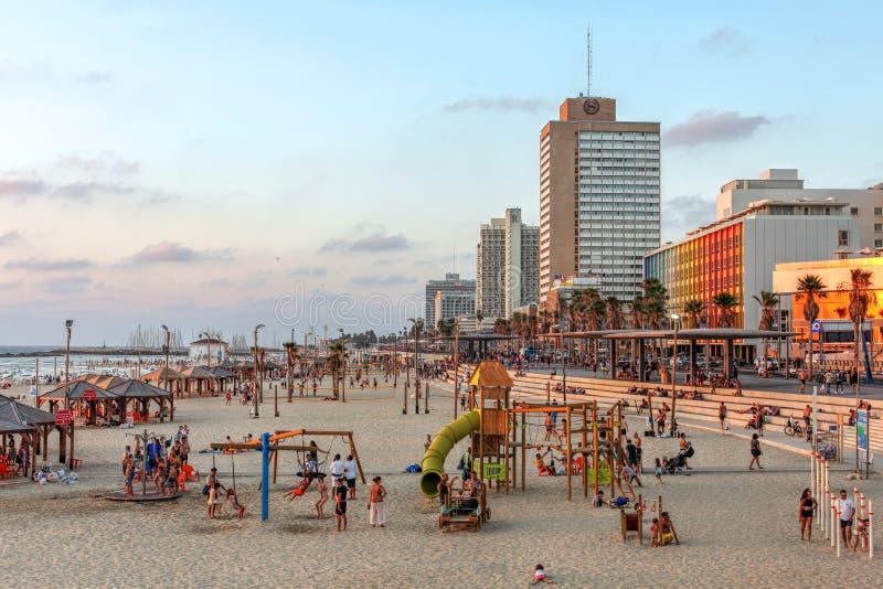 Tel Aviv, Israele fotografie stock libere da diritti
