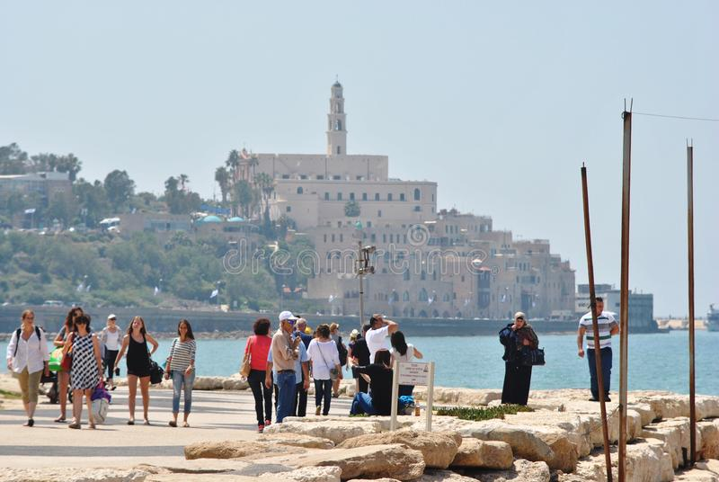 Tel. Aviv Jaffa royalty-vrije stock fotografie