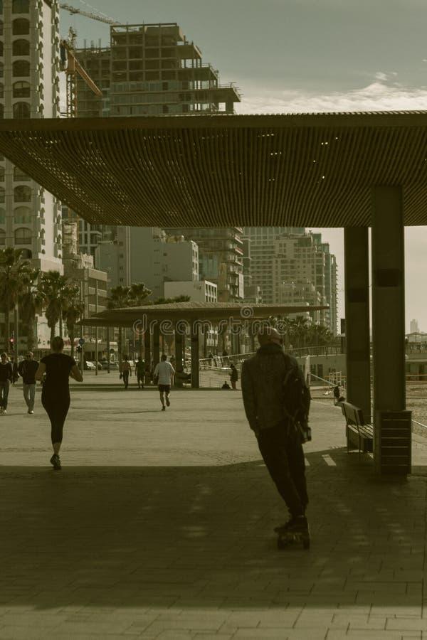 Tel Aviv nell'Israele fotografia stock libera da diritti