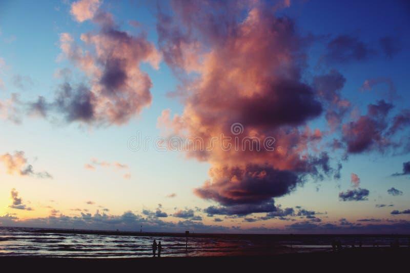 Tel aviv niebo zdjęcia royalty free