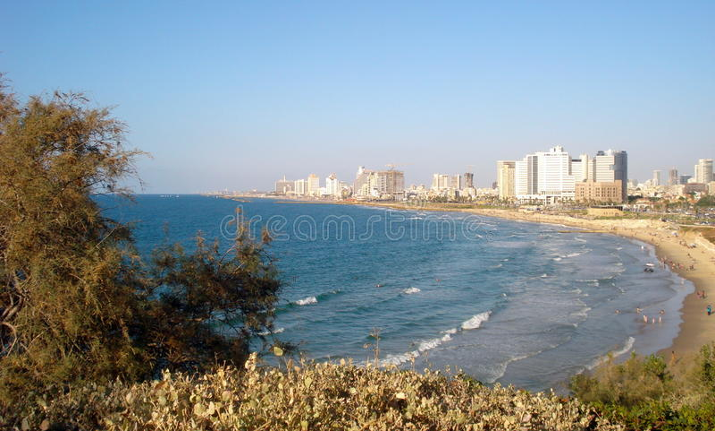 Tel Aviv od Jaffa, Izrael zdjęcia royalty free