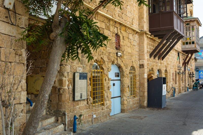 Tel Aviv and Old Yaffa stock photo