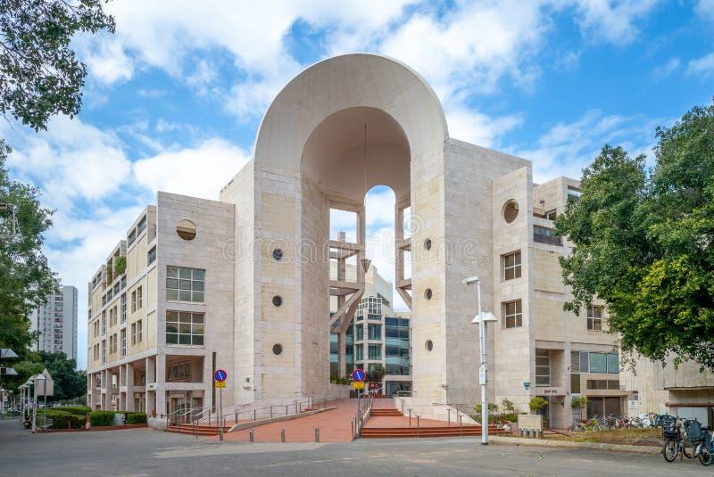 Tel Aviv przedstawie? centrum lub Golda centrum dla przedstawie?, lub zdjęcia stock