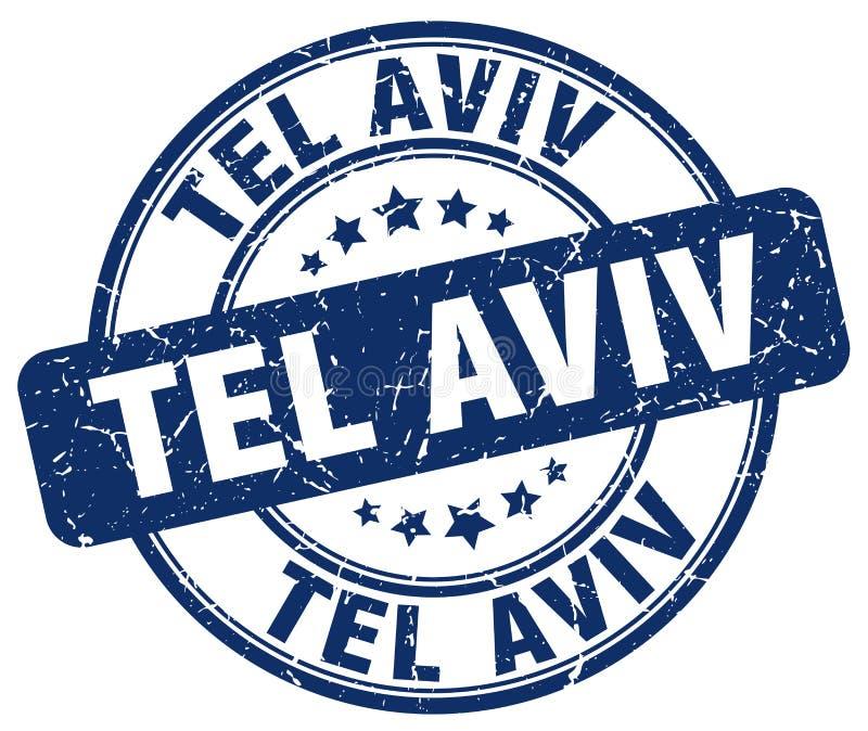Tel Aviv stamp royalty free illustration