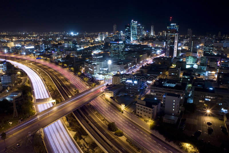 Tel Aviv Skyline stock image