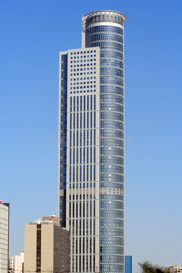 Tel-Aviv skyscraper #3 stock photography