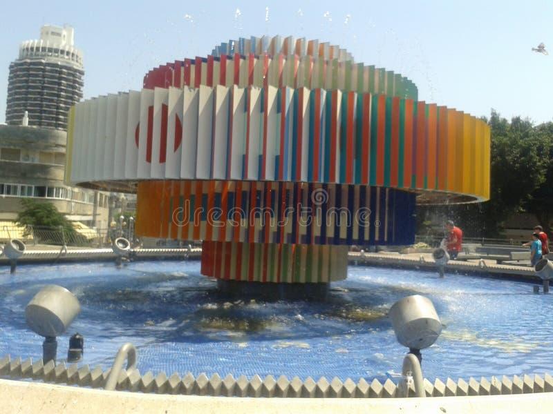Tel Aviv stad royaltyfri fotografi