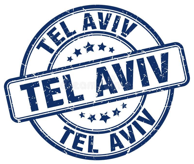 Tel Aviv znaczek royalty ilustracja