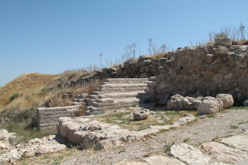 Tel Lachish obrazy stock