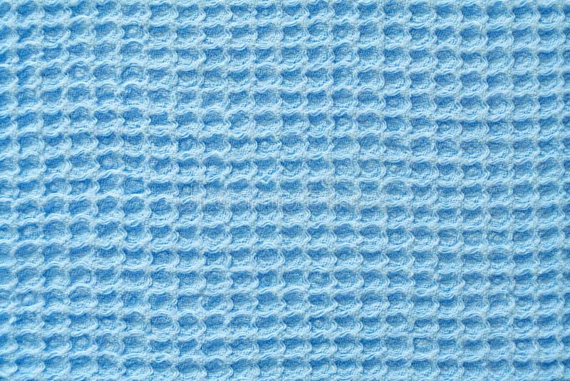 Tela azul clara de la galleta como textura imagen de archivo