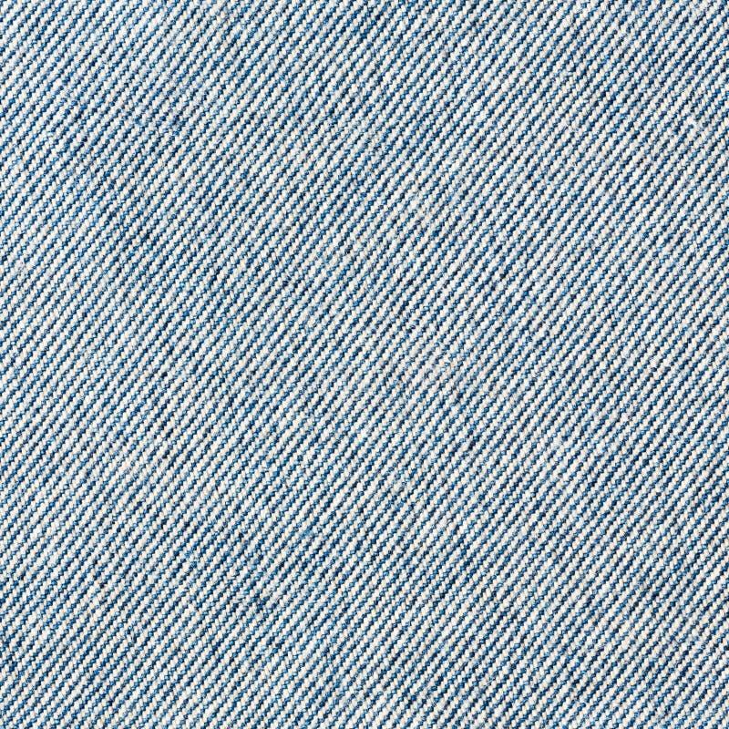Tela azul de la mezclilla o del dril de algodón al revés imagen de archivo libre de regalías