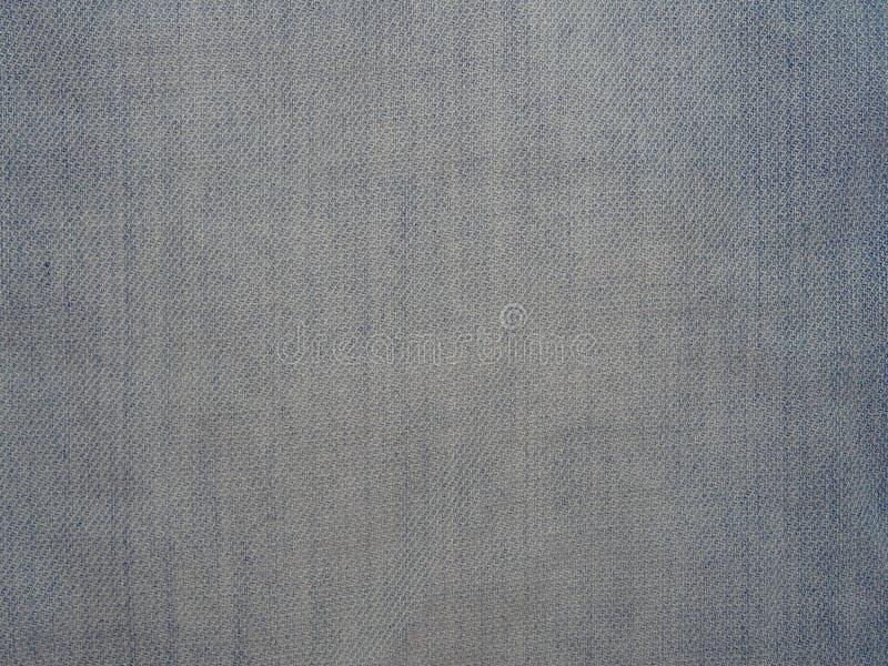 Tela azul del dril de algodón fotografía de archivo libre de regalías