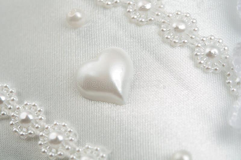 Tela branca wedding da textura imagem de stock