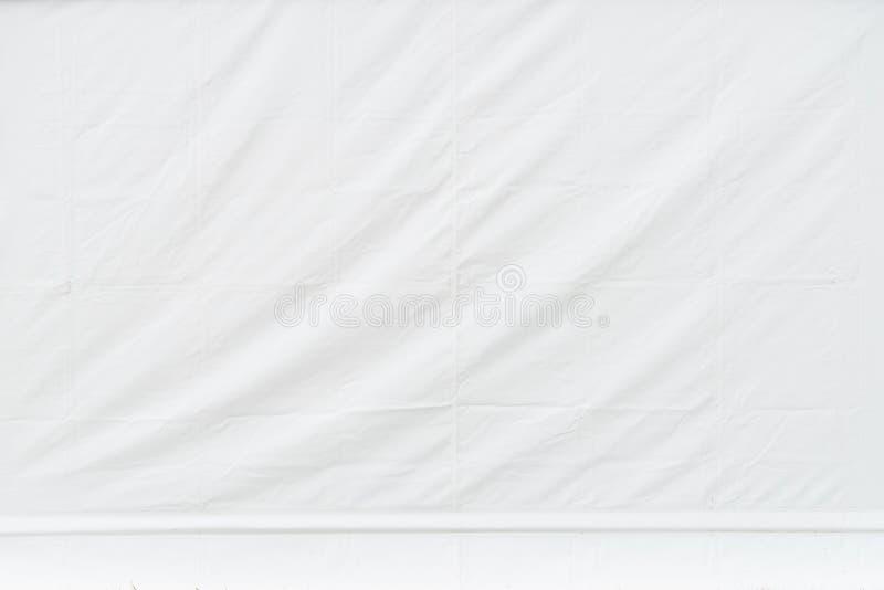 Tela cerata leggera di bianco del fondo fotografie stock