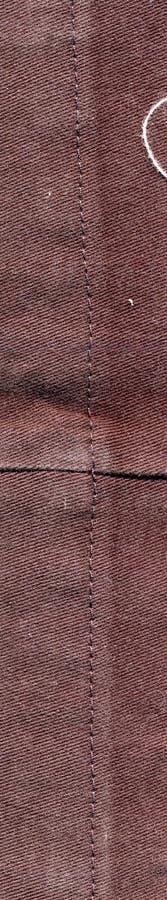 A tela colheu de um par de calças fotografia de stock royalty free