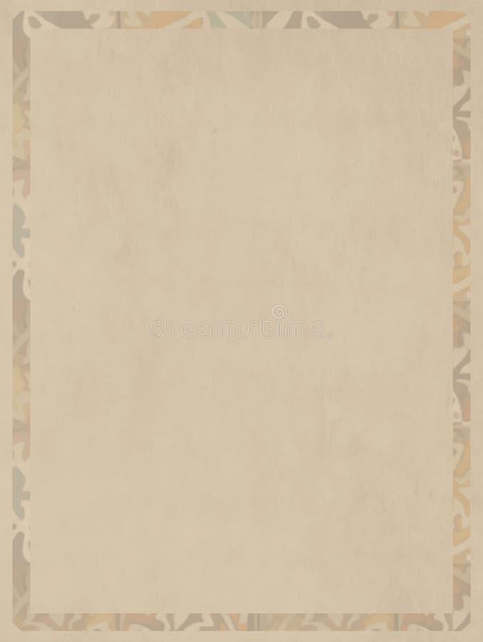 Tela color crema di effetto basso neutrale per le basi artistiche illustrazione vettoriale