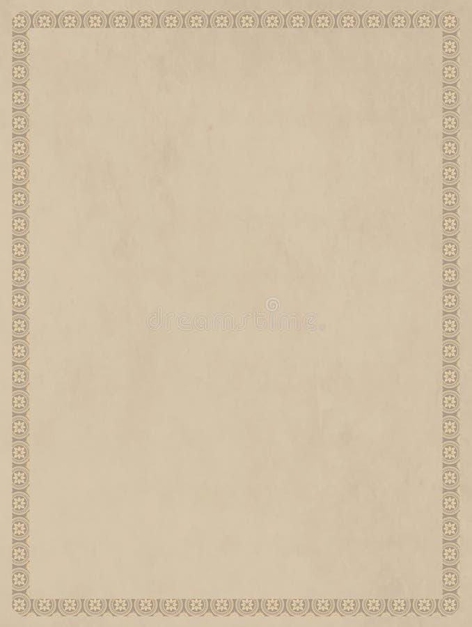 Tela color crema di effetto basso neutrale per le basi artistiche royalty illustrazione gratis