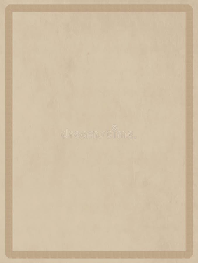 Tela color crema di effetto basso neutrale per le basi artistiche illustrazione di stock