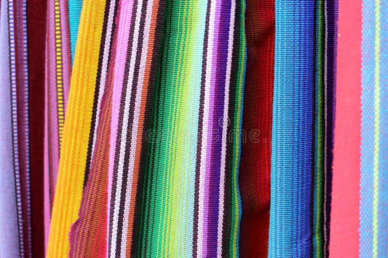 Tela colorida da América Latina fotos de stock