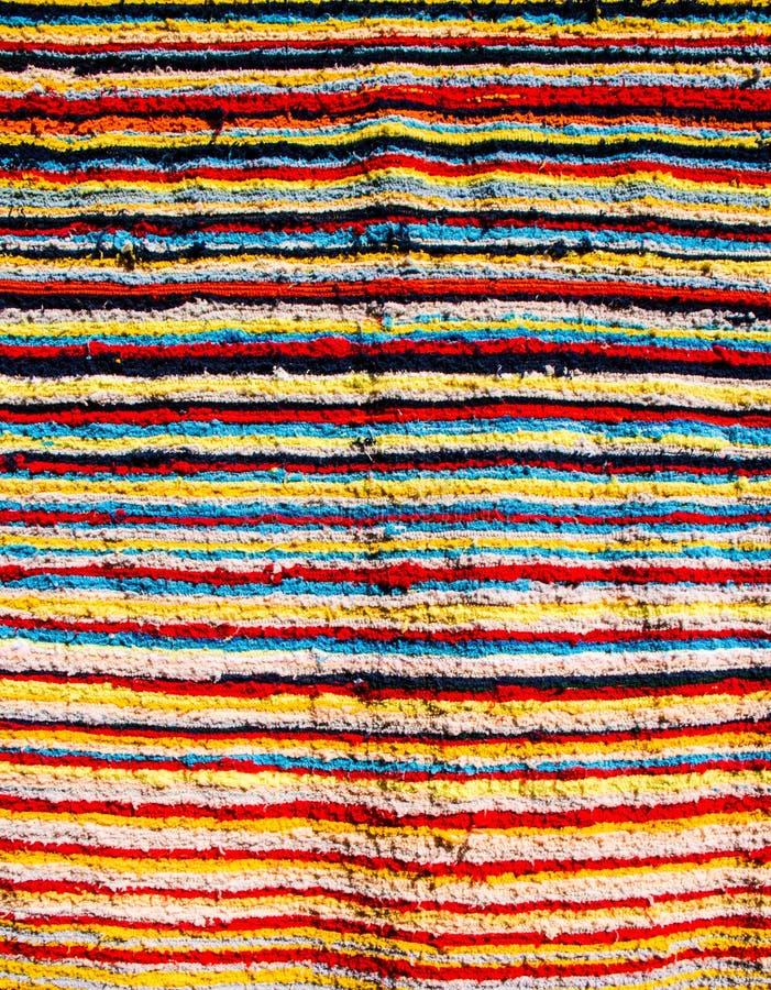 Tela colorida de la tribu fotos de archivo