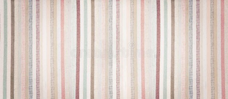 Tela colorida macia listrada fundo textured do vintage fotos de stock