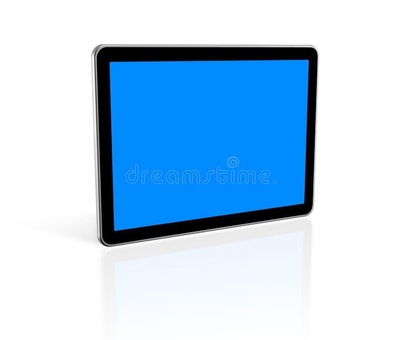 tela da tevê 3D ilustração stock