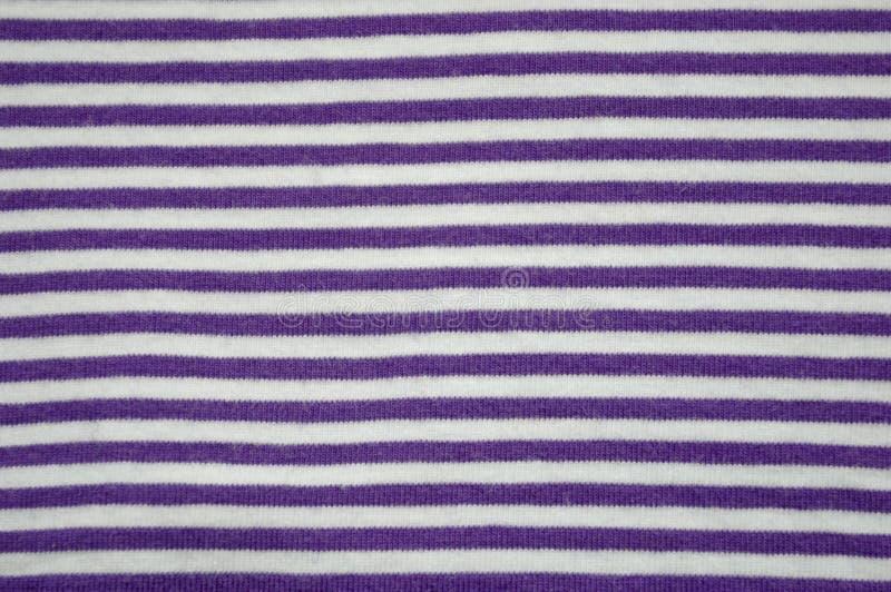 Tela de algodão listrada imagens de stock