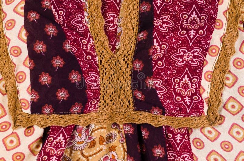 Tela de algodón modelada fotografía de archivo