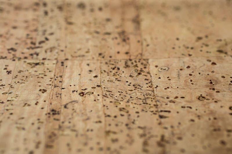 Tela de cuero del corcho imágenes de archivo libres de regalías