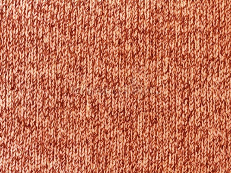 Tela de lana hecha punto áspera fotografía de archivo libre de regalías