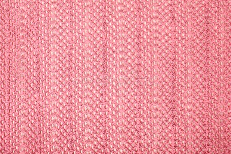 Tela de lino rosada fotos de archivo libres de regalías