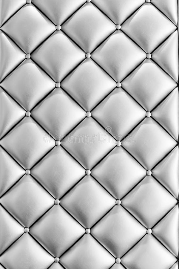 Tela de lujo del estilo del vintage con textura del botón del sofá imagenes de archivo