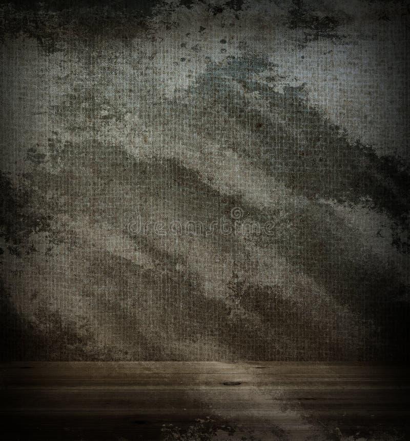 Tela de madera del piso y de la pared imagen de archivo