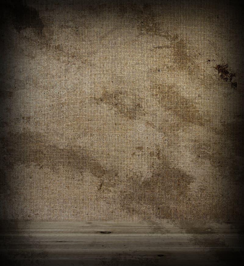 Tela de madera del piso y de la pared imagenes de archivo